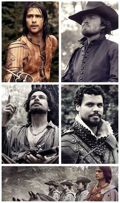 The Musketeers, 'And you are not alone in this; As brothers we will stand and we'll hold your hand.'