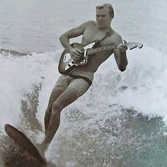 Groovy Surfin' - Some groovy instrumental surf guitar music. Sounds better in the summer.   Including music by Dick Dale, The Centurions, The Shadows. : http://8tracks.com/irikon/groovy-surfin