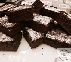 "Brownies al cacao ""senza nulla"" - LightCake Cacao, Desserts, Food, Diet, Tailgate Desserts, Deserts, Essen, Postres, Meals"