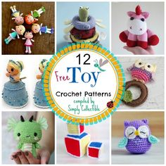 These free toy crochet patterns will help you decide what you will make for the holidays.
