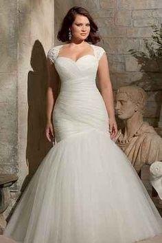 Precios de vestidos de novia para gorditas