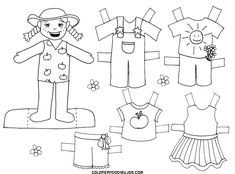 Coloring Page 2018 for Recortable Para Colorear, you can see Recortable Para Colorear and more pictures for Coloring Page 2018 at Children Coloring. Spanish Activities, Preschool Activities, Art Projects, Projects To Try, Diy And Crafts, Arts And Crafts, Paper Dolls Printable, Pomes, Desktop Pictures