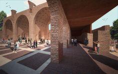 ABDR Architetti Associati, Gianluigi Mondaini · Project for via dei Fori Imperiali