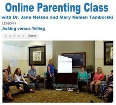 Positive Discipline Online Parenting Class | Positive Discipline