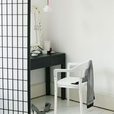 If your desk setup includes a black table and chair, swapping one or the other with a white piece will keep...