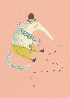 Kaart Miereneter | Paper & Cloth via Petite Louise