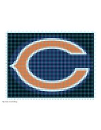Free Crochet Pattern For Chicago Bears C : 1000+ images about Knitting Charts on Pinterest Chicago ...