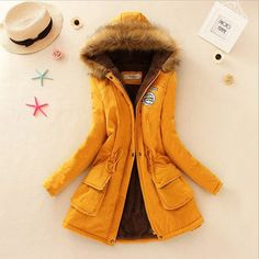 Itis Bling Women Winter Jacket Faux Fur Collar C85954/B