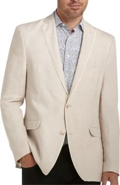 Tallia Tan Slim Fit Sport Coat | Men's Wearhouse