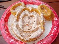 The Mickey waffle.
