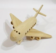 Airplane, organic,handcrafted wooden toys, eco-friendly handmade toys for children, babies, kids, boys and girls on Etsy, $22.99