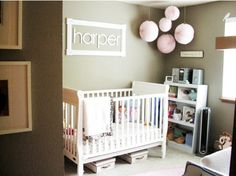 "Name: Harper Age: 18 months Location: Gig Harbor, Wa. ""Choose things that you love, and it will come together,"" says Harper's mom. And this room certainly has come together- not in a forced, overly planned way, but in an organic way with lots of special touches from mom and dad. Take The Full Tour After The Jump"