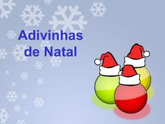 Adivinhas de natal by aasf via slideshare