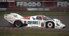 RSC Photo Gallery - Silverstone 1000 Kilometres 1985 - Porsche 956 no.18 - Racing Sports Cars