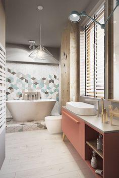 Banheiros industriais por razoo-architekci
