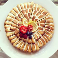 Tarte Citron...... maybe? Waffles, Pie, Sweets, Breakfast, Desserts, Food, Torte, Sweet Pastries, Tailgate Desserts