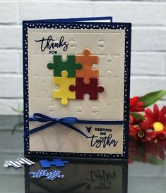 456 best handmade greeting cards images on pinterest in 2018 colorful stampin up love you to pieces card idea m4hsunfo