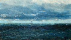 August Strindberg (Swedish, 1849-1912), Seglare, 1873, Nordic Museum.