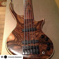 @bassmusicianmag #Repost @moore.basses ・・・ Finally done with this one! #bassplayerunited #bassplayermag… #BassMusicianMag