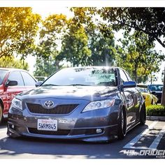 ToyotaCamry looks stunning in the Californian sun! #toyota #camry