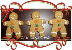 Galletas navideñas - hombres de gengibre