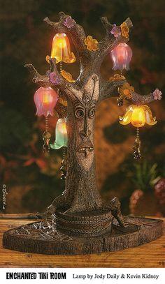 Disneyland Enchanted Tiki Room Tangaroa Lamp.  All credit to Kevin Kidney & Jody Daily