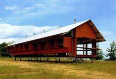 Glenn Murcutt, Marika House, 1994, Yirrkala Community, Eastern Arnheim Land, Northern Territory, Australia