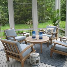 Traditional Home 3 Season Room Design Ideas Pictures Remodel And Decor Small Patio Furniture