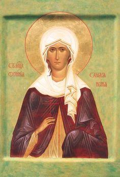St Photini [Svetlana] of Samaria / Pyhä Fotini