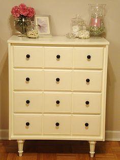 Restoring second hand furniture
