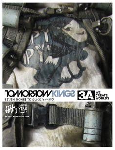 Popbot 7Bones TK Slicer Yaro goes up for pre-order on June 9th at www.bambalandstore.com  #threeA #AshleyWood #Popbot #TomorrowKing #TomorrowKings #FutureBambasale #Bambalandstore #artpiece #toy #actionfigure #toyplanet #toycommunity #toys #hobby #toycollector #art #collectibles #vinyl #designertoys #toyphoto #toyphotography #collecting #photography #photo #toylife #toystagram #toypops