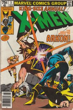 Back to title selection: Comics U: The Uncanny X-Men Annual Vol 1 See Also: