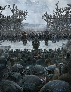 War for the Planet of the Apes - All of human history has lead to this moment. The irony is we created you. And nature has been punishing us ever since. This is our last stand. And if we lose... it will be a Planet of Apes.