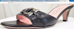 Salvatore Ferragamo 8 B sandals mules slides heels black leather gancini ~ http://stores.ebay.com/thecurrentfashion/Footwear-/_i.html?_fsub=10878930012 , http://stores.ebay.com/thecurrentfashion?_dmd=2&_nkw=leather | #TheCurrentFashion #style #fashion #eBay #eBayFashion #shoes #footwear #SalvatoreFerragamo #Ferragamo #sandals #Ferragamosandals #mules #Ferragamomules #slides #Ferragamoslides #heels #Ferragamoheels #blackleather #leather #gancini #leathersandals #leathermules #leatherslides