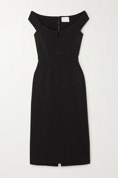Dion Lee - Off-the-shoulder Stretch-cady Bustier Dress - Black Dion Lee, Corsage, Sleek Ponytail, Bustier Dress, Wardrobe Basics, Dress Outfits, Dresses, Bodice, Neckline