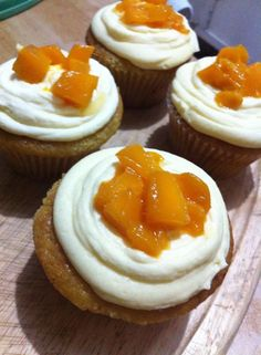 Mango Cupcakes cooked live with Kitchie! Experience her Thailand influence through a personalized Skype cooking class!