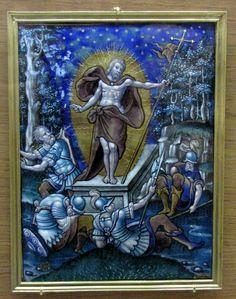 Atelier de Pierre Reymond, la Résurrection du Christ (château d'Ecouen)