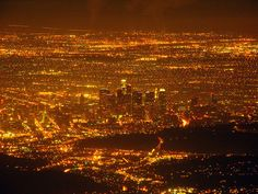 Downtown Los Angeles and Vicinity by © mike_s_etc, via Flickr.com. As seen from Mount Wilson about 5,700 feet above sea level, looking southwest.