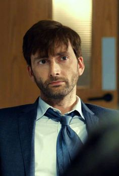 David Tennant looking so very delicious in  Broadchurch