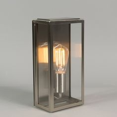 Wall Lamp Rotterdam 1 Steel