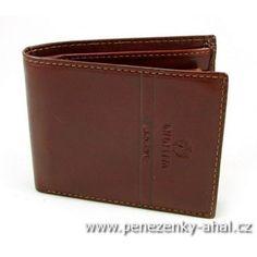 Luxusní pánská peněženka hnědá
