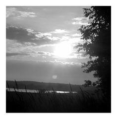 Sunset BW
