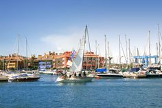 Feel the fresh air on your face while #sailing at #Sotogrande https://www.facebook.com/joinsotoluxury