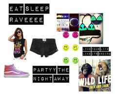 """""""#RAVEPARTY"""" by haley-espinosa on Polyvore"""