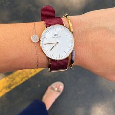 """Shop the Look from Ashley Jenna NY on ShopStyleWith the school year right around the corner, it's """"time"""" to get your. Fashion 2018 Trends, Spring Fashion Trends, Spring Summer Fashion, Cute Watches, Around The Corner, Daniel Wellington, Watch Bands, You Got This, Bling"""