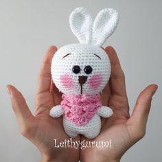 Leithygurumi: Cute Little Bunny English and Turkish Pattern