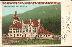 Old Postcards, Grand Hotel, Alps, Great Artists, Austria, Taj Mahal, The Past, World, Building