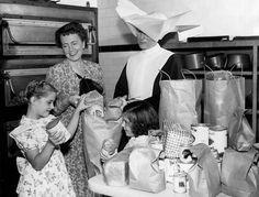 nuns and orphanages | nun at orphanage los angeles 1950