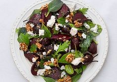Roasted Beetroot and salty Feta are the perfect partners, then add Walnuts for that extra wow factor.