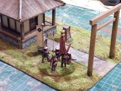 Samurai, Japanese Buildings, Game Terrain, Japanese Models, Book Of Shadows, Plastic Models, Asian, 17th Century, Pergola